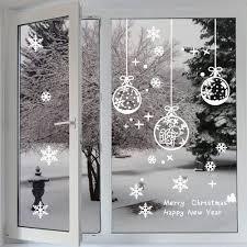 Fensterbilder Profer Statisch Haftende Pvc Sticker Schneeflocken