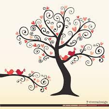 love birds in tree clipart. Fine Tree Coral Love Birds Clipart 1 Intended In Tree