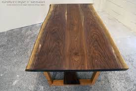 living edge furniture. Incredible Custom Solid Hardwood Table Tops Live Edge Image Of How To Make Wood Slab Popular · Furniture Living