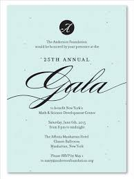gala invitation wording charity dinner invitation example