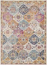 mistana hillsby orange area rug reviews wayfair in and blue plans 15