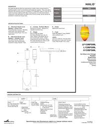 Cooper Power And Lighting Cooper Lighting Halo H1drpsml Users Manual Manualzz Com