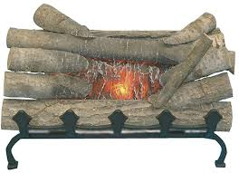 the pleasant hearth 20 in electric fireplace logs can be inserted into any fireplace replacing existing wood grate gas grate burner or log set