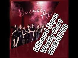 Billboard Japan Album Chart Billboard Japan Weekly Ranking 2019 07 08 Youtube