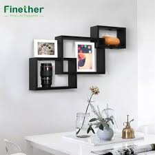 finether 3 piece intersecting rectangular floating
