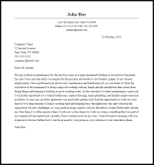 Professional Maintenance Cover Letter Sample Writing Guide