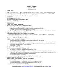 Objective For Social Work Resume Jobs Resume Objectives Objective For Job Resumes Need In Famous 59