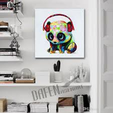 2018 100 hand painted carrying the giant panda cut animal oil painting on canvas wall art for living room home decoration from petbaby 30 88 dhgate com on giant panda wall art with 2018 100 hand painted carrying the giant panda cut animal oil