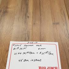 tons of laminate flooring in stock