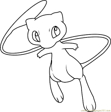Small Picture Pokemon Coloring Pages Mew Ipad Coloring Pokemon Coloring Pages