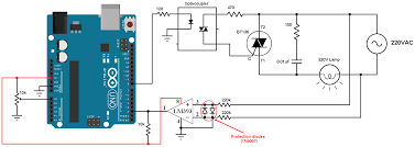 Pwm Ac Light Dimmer Module 220v Light Dimmer With Arduino Lamp Brightness Control