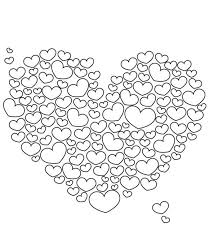 Small Picture Mandala Coloring Pages Hearts Coloring Pages