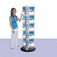 Flyer Display Stands revolving flyer display Brochure Literature Stands 7