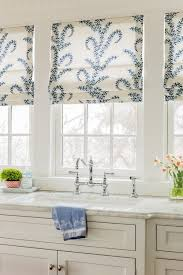 roman blinds for kitchen window