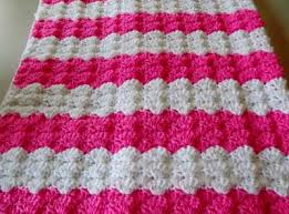 Baby Afghan Patterns Gorgeous Pink Shells Baby Afghan
