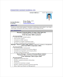 Resume Of Chartered Accountant Marieclaireindia Com