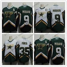 Ccm Youth Jersey Size Chart 2019 Mens Dallas Stars 9 Mike Modano 2005 Green White Vintage Jersey 35 Marty Turco 2003 Ccm Home Stitched Retro Hockey Jerseys Size S 4xl From