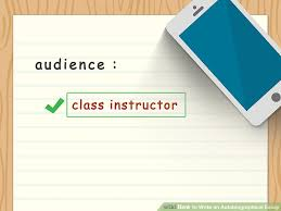 the best way to write an autobiographical essay wikihow image titled write an autobiographical essay step 3