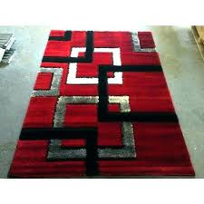 red and black area rug red black and white rug area rugs red black area rug