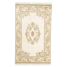 home decorators collection filigree aubusson gold 4 ft x 6 ft area rug
