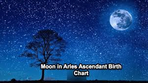 Moon Birth Chart Moon In Aries Ascendant Mesha Lagna Birth Chart In Various