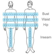 Inseam Size Chart Size Chart For Mobile Allheart Com