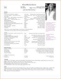 Sample Acting Resumes Acting Resume Format Madrat Co soaringeaglecasinous 1