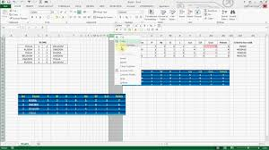 League Schedule Maker Excel How To Create Football League Table In Excel 2013 Youtube