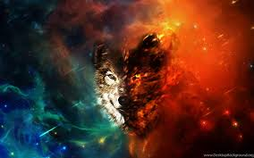 Top Space Wolf Wallpaper Images For ...