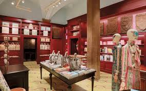 the boutique at gucci garden in florence italy