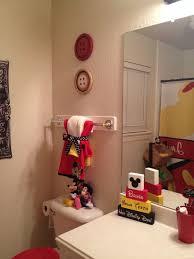 disney mickey mouse bathroom decor design idea and decors