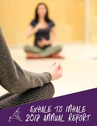 Exhale to Inhale 2018 Annual Report