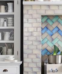Kitchen Wall Tiles Shibori Cream Topps Tiles Kitchen Splashbacks Pinterest