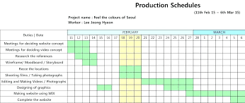 Business Schedule Template Film Production Plan Template Business On Plantain Example
