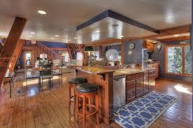 ... Unique Designs Interior Witg Cabinets Flooring Furnitures Barns Turned Into  Houses Combined ...