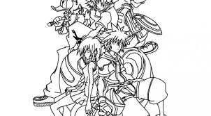 Small Picture Printable 10 Sora Arts in Kingdom Hearts Coloring Pages in Kingdom
