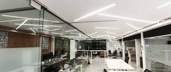office space lighting. office space lighting centerlight u2014 led linear light for dots coworking