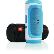 jbl bluetooth speakers blue. this button opens a dialog that displays additional images for product with the option to zoom in or out. jbl bluetooth speakers blue o