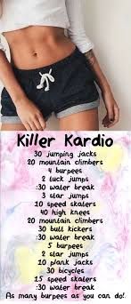 cardio workout at home for beginners fat burning and weight loss