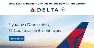 Jpmiles Upgrade Chart Jet Airways Delta Frequent Flier Partnership Begun