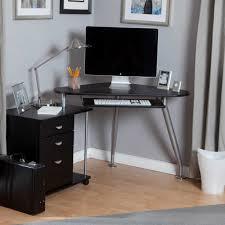 Furniture:Minimalistic Computer Desk With Futuristic Shape In Slim Shape  Small Minimalist Computer Desk In