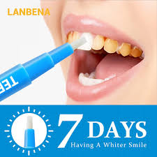 Lanbena <b>Teeth Whitening Pen</b> Cleaning <b>Serum</b> Removes Plaque ...