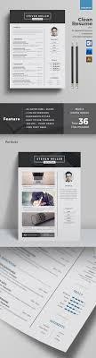 Colorful Resume Templates 100 Best Minimal Resume Templates Design Graphic Design Junction 54