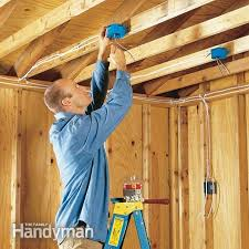 how to wire a garage unfinished the family handyman wiring an unfinished garage