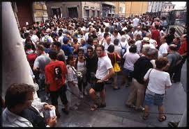 Genova G8 reportage fotografico - foto © michele ferraris