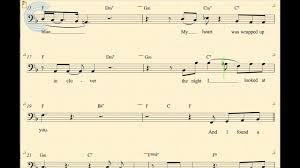 Bass At Last Etta James Sheet Music Chords Vocals