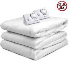 mattress heater. biddeford heated electric mattress pad warming bedding king queen full twin new heater