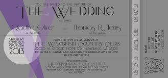 Wedding Invitations Old Hollywood Style Caitlin Marie Driver