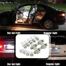 <b>13x Blue</b> LED Bulbs Car Interior T10&31mm Map Dome License ...