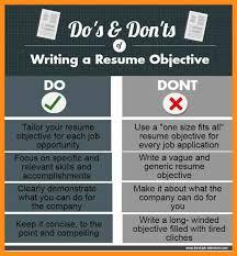 Writing Resume Objective 100 write resume objective agenda example 63